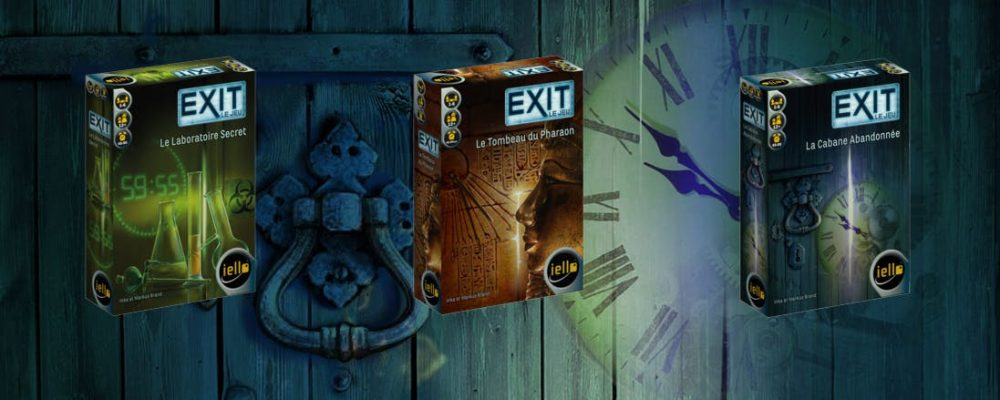 EXIT : L'escape game version jeu de société !