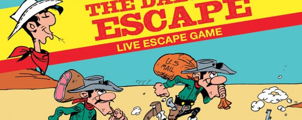 Ambiance Lucky Luke chez Escape Prod !