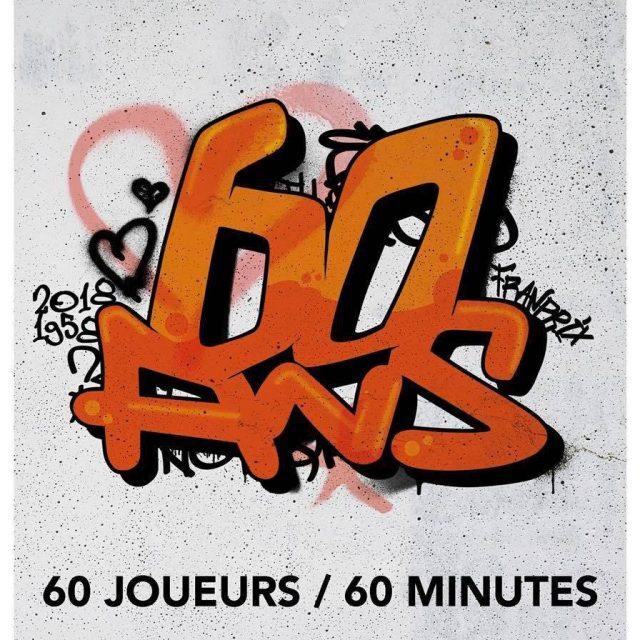 60 ans / 60 joueurs / 60 minutes