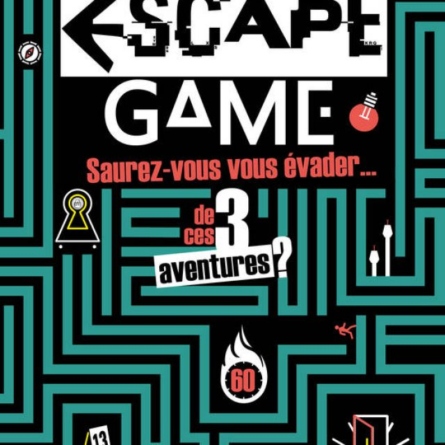 Découvrez le livre Escape Game !